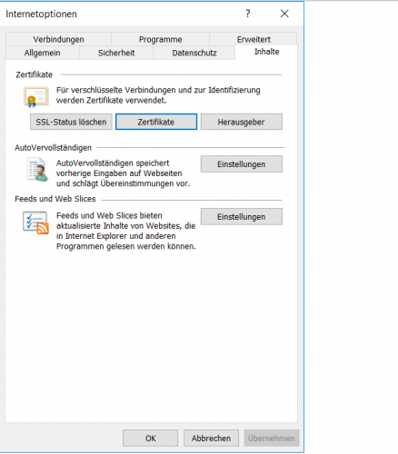 Internet Explorer/Edge: Wie prüfe ich, ob meine eID-Zertifikate ...