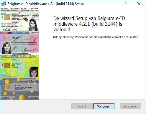 De eID installatiesoftware werkt niet  Hoe los ik dat op