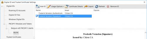 How do I set up PKCS11 in Acrobat Reader DC? | eID software